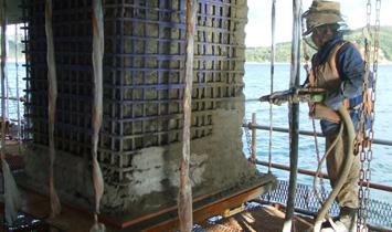海洋構造物補修